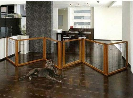 Richell Convertible Elite 6 Panel Pet Gate-1