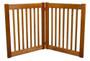 HighLander Series 2-Panel Free Standing Pet Gate