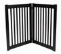 HighLander Series Large 2-Panel Free Standing Pet Gate