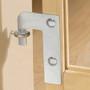 GMI® GuardMaster® III 476 Wood Slat Tall/Wide Hardware Mounted Gate
