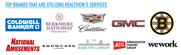 RealTView is a preferred provider to top well known brands.