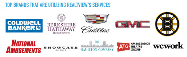 RealTView is a preferred provider to top well known brands