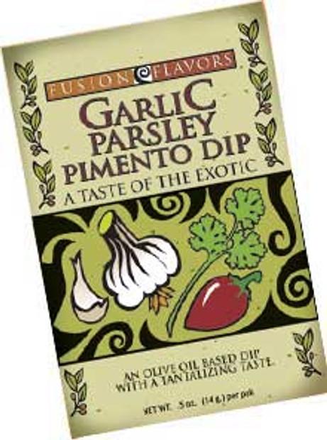 Garlic Parsley Pimento Dip