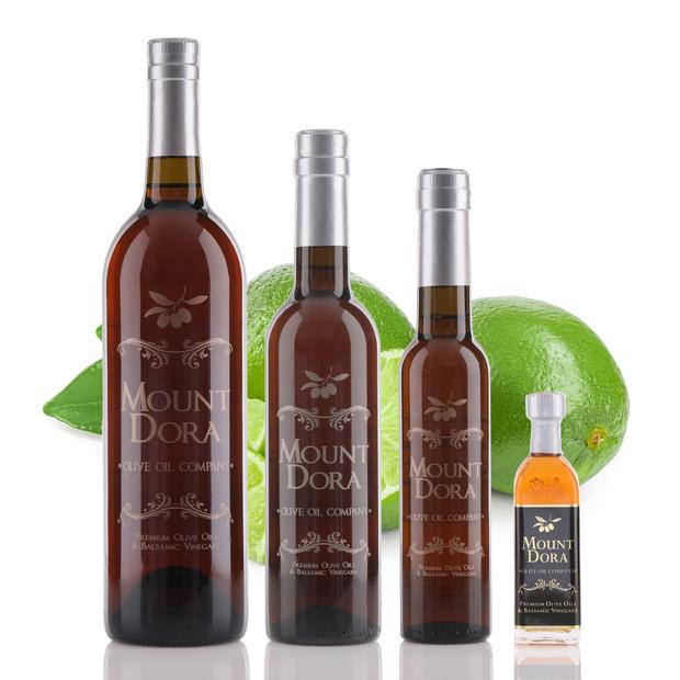 Bottles of Key Lime White Balsamic Vinegar