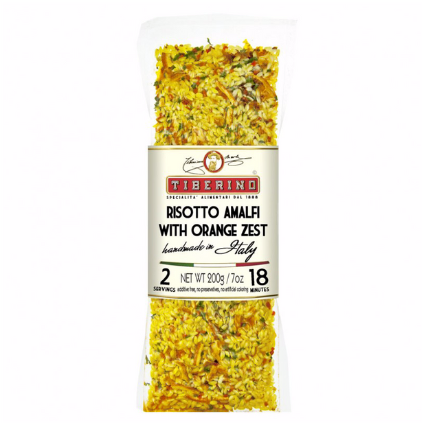 RISOTTO WITH ORANGE ZEST