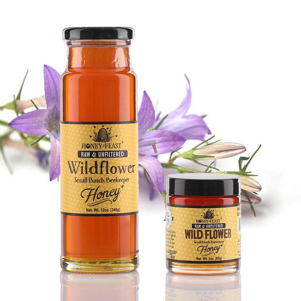 Wildflower Honey Raw Unfiltered