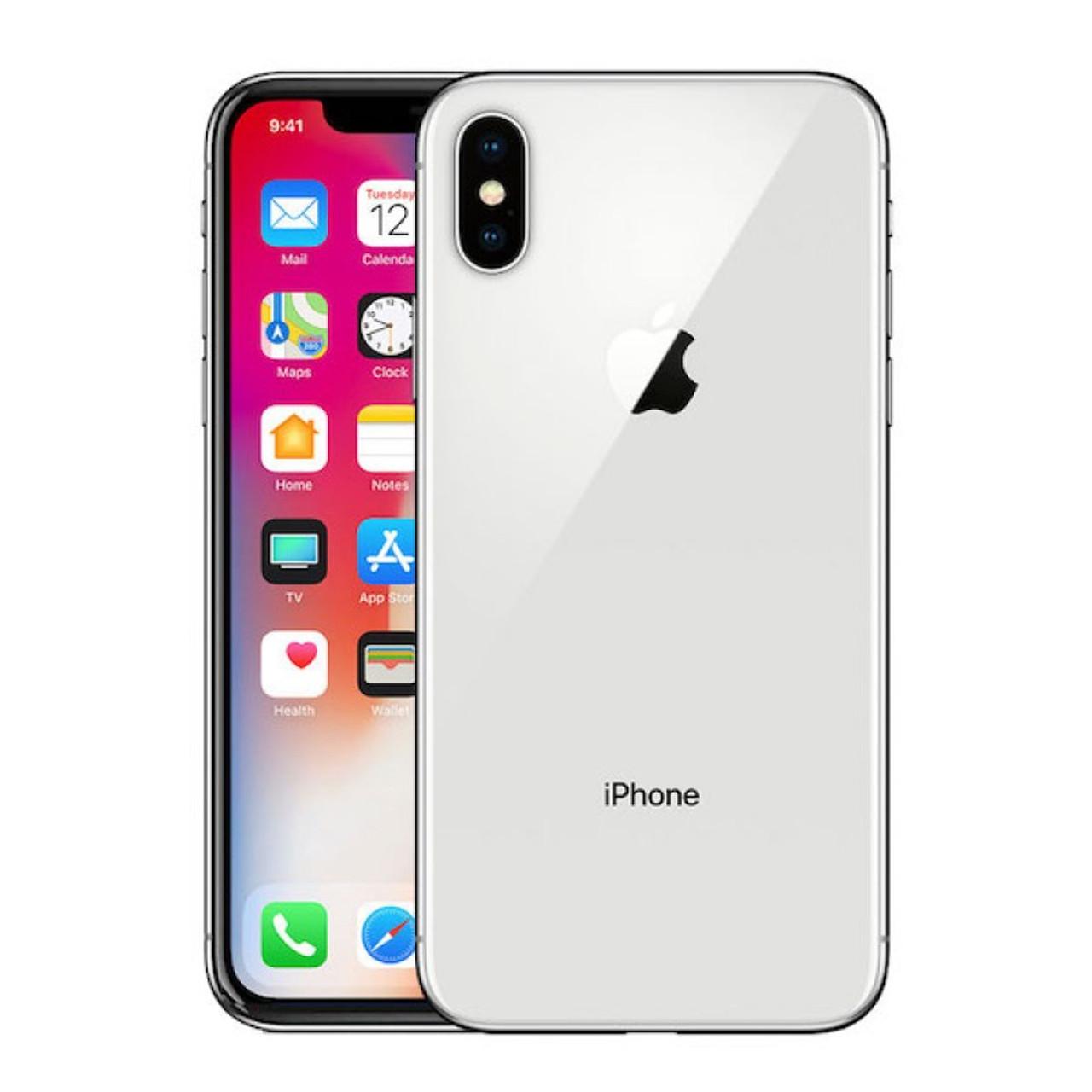 APPLE IPHONE X 256GB VERIZON CPO A STOCK UNLOCKED - SILVER