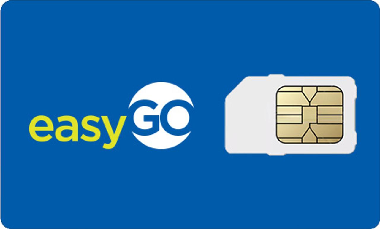 EASYGO 4G LTE SIM CARD