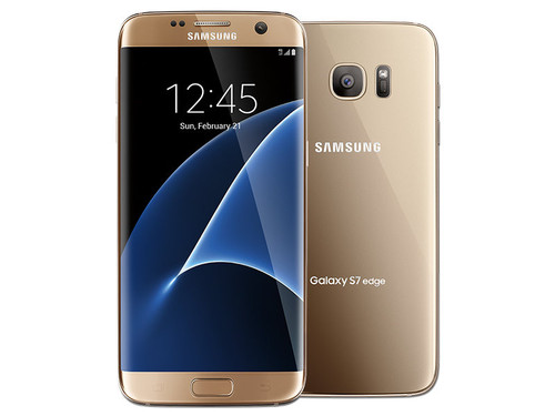 SAMSUNG GALAXY S 7 EDGE 32GB T-MOBILE UNLOCKED A-STOCK - CORAL BLUE