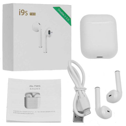 i9s TWS Wireless Bluetooth V5.0 Stereo Twin Earbuds