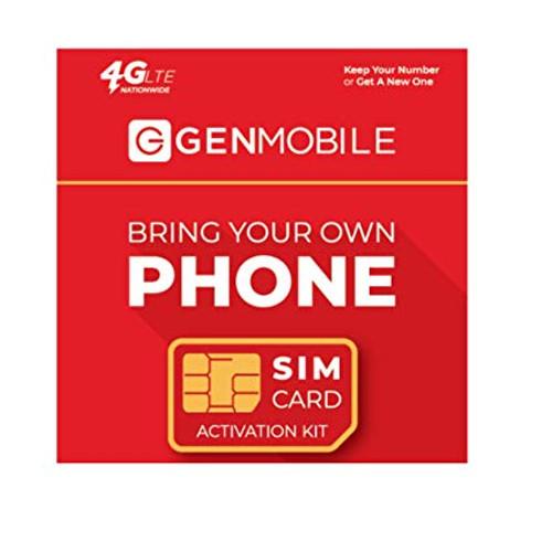 Gen Mobile 4G LTE SIM (C)