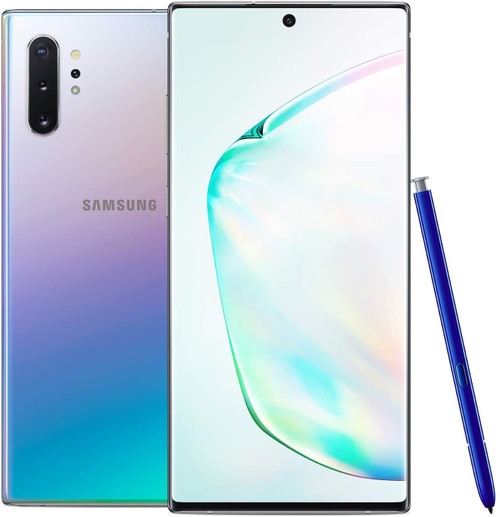 SAMSUNG GALAXY NOTE 10 256GB GSM/CDMA A STOCK UNLOCKED - AURA BLACK, AURA GLOW