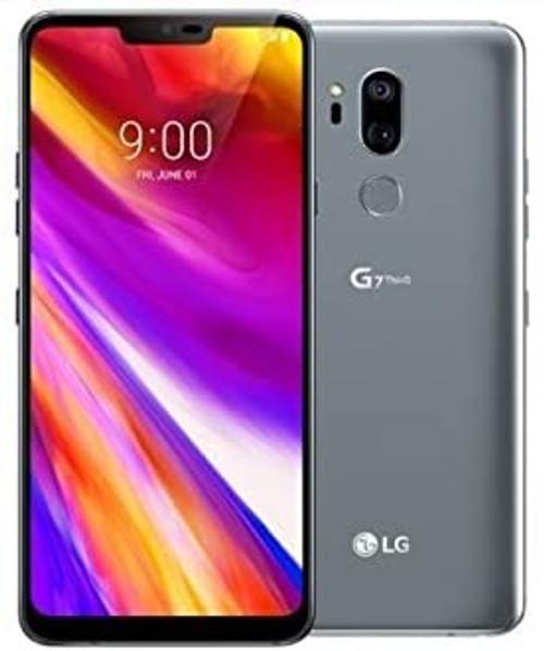LG G7 ThinQ 64GB VERIZON CPO UNLOCKED LIKE NEW - Aurora Black, Platinum Gray