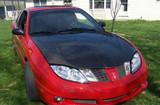 AC641HC - Advan OEM Design 1995-2002 Pontiac Sunfire Carbon Fiber Hood
