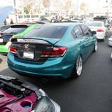 AC247TRC - Advan OEM Design 2013-2015 Honda Civic 4Dr Sedan Carbon Trunk