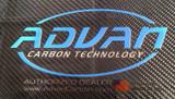 Advan Carbon Authorized Dealer Sticker