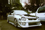 AC978HC - Advan OEM Design 2002-2003 Subaru Impreza WRX Carbon Fiber Hood