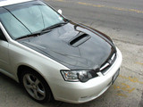 AC983HC - Advan OEM Design 2005-2009 Subaru Legacy Carbon Fiber Hood