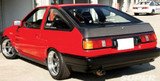 AC770HTC - Advan OEM Design 1984-1987 Toyota Corolla GT-S AE86 Carbon Fiber Hatch