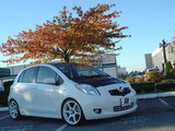 AC879HC - Advan OEM Design 2007-2011 Toyota Yaris 2 or 4 Drs Hatchback Carbon Hood