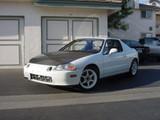 AC209HC - Advan OEM Design 1993-1997 Honda Del Sol Carbon Fiber Hood
