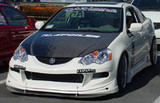 AC207HC - Advan OEM Design 2002-2006 Acura RSX Carbon Fiber Hood