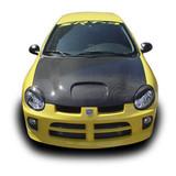 AC740HLC - Advan Design 2000-2005 Dodge Neon Carbon Fiber Eye Brows