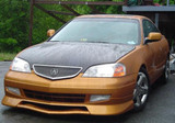 AC202HC - Advan OEM Design 2001-2003 Acura CL Carbon Fiber Hood