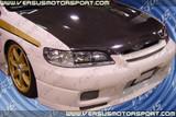 AC526HC - Advan OEM Design 1998-2002 Honda Accord 4Door Carbon Fiber Hood