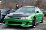 AC224HCI - Advan Intruder Design 1994-1997 Honda Accord 4Cly Carbon Fiber Hood