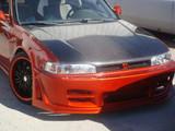 AC309HC - Advan OEM Design 1990-1993 Honda Accord Carbon Fiber Hood