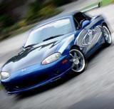 AC736HC - Advan OEM Design 1999-2005 Mazda Miata NB Carbon Fiber Hood
