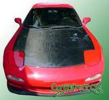 AC710HC - Advan OEM Design 1993-1998 Mazda RX-7 FD3S Carbon Fiber Hood
