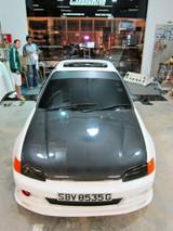 AC214HC - Advan OEM Design 1992-1995 Honda Civic 4Dr. Carbon Fiber Hood