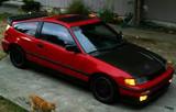 AC311HCZC - Advan ZC Design 1988-1991 Honda Civic/ CRX Carbon Fiber Hood