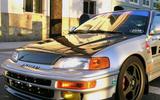 AC311HCSIR - Advan JDM SIR Design 1988-1991 Honda Civic/ CRX SI-R Carbon Fiber Hood