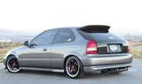 AC617HTC - Advan OEM Design 1996-2000 Honda Civic HB Carbon Hatch