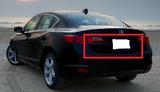 AC3270RGC - Advan OEM Design 2012-2017 Acura ILX Carbon Rear Garnish