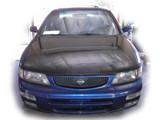 AC905HC - Advan OEM Design 1995-1999 Nissan Maxima Carbon Fiber Hood
