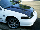 AC543HCC - Advan SHO Cowl Design 1992-1995 Ford Taurus Carbon Fiber Hood