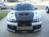 AC233HCE - Advan EVO Design 1995-1999 Mitsubishi Eclipse/Talon Carbon Hood