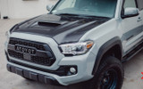 Advan Techno-R Vented Design 2016-2020 Toyota Tacoma Carbon Fiber Hood with Scoop