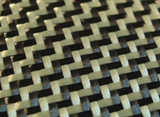 Dual Yellow Carbon/ Kevlar Twill Weave Option