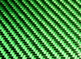 Green Carbon/ Kevlar Twill Weave Option