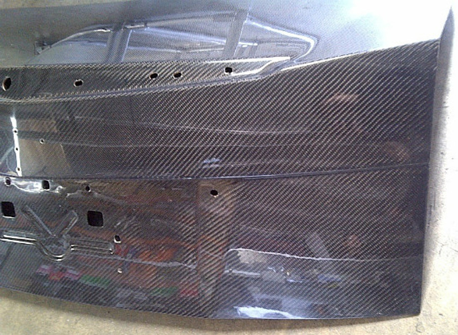 AC328TRC - Advan OEM Design 2009-2013 Cadillac CTS 4d Carbon Trunk