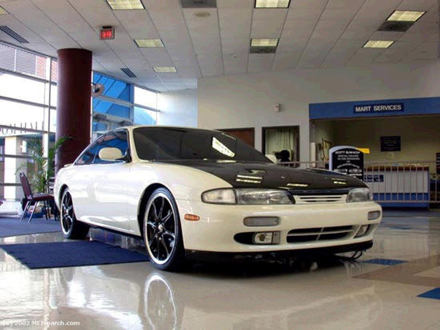 AC704HC - Advan OEM Design 1995-1996 Nissan 240SX S14 Zenki Carbon Fiber Hood
