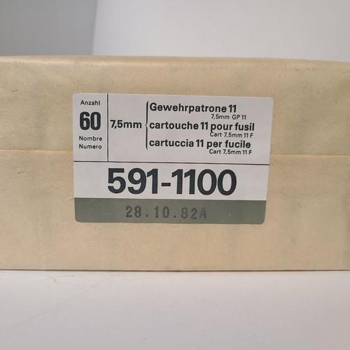 Swiss 7.5x55MM