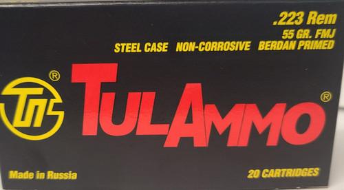 TulAmmo .223 (CASE)