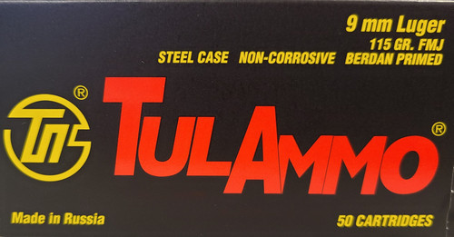 TulAmmo 9mm (Box)