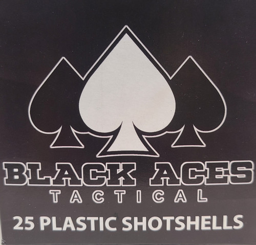 12 Gauge Double 00 Buckshot - Black Aces Tactical